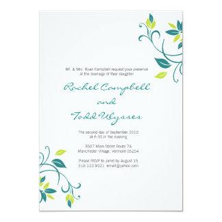 Invitación de encargo del boda