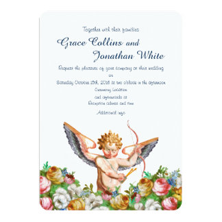 Invitación de encargo del boda del jardín del
