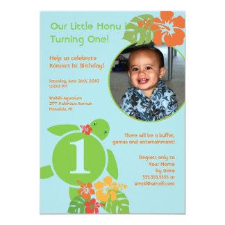 Invitación de encargo del cumpleaños de la tarjeta invitación 12,7 x 17,8 cm
