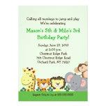 Invitación de encargo del cumpleaños del FIESTA 5x