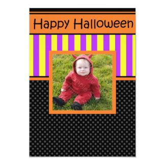 Invitación de encargo del fiesta de Halloween de