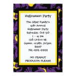 Invitación de encargo del fiesta de Halloween del Invitación 12,7 X 17,8 Cm