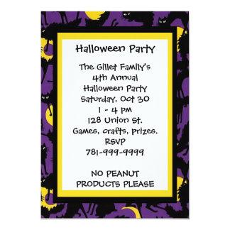 Invitación de encargo del fiesta de Halloween del