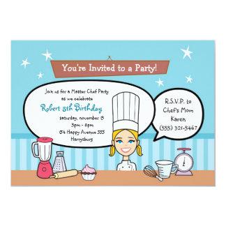 Invitación de encargo del fiesta de los niños con