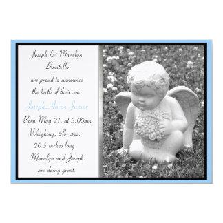 Invitación de encargo del nacimiento del ángel del
