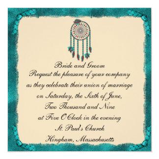 Invitación de encargo enmarcada KRW del boda de