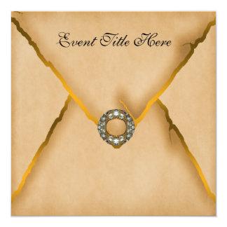 Invitación de encargo Jeweled del fiesta de los
