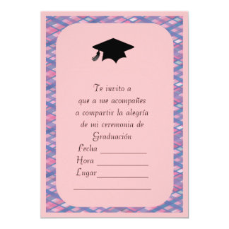 Invitacion de Graduacion Card