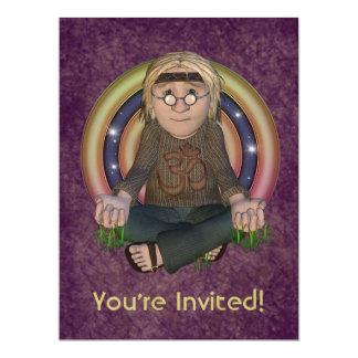 Invitación de gran tamaño del fiesta de los años