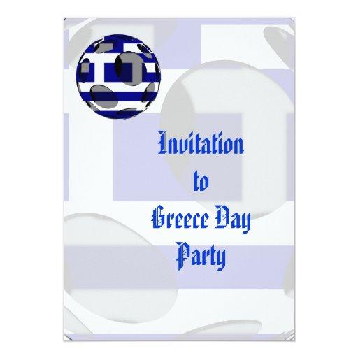 Invitación de Grecia #1