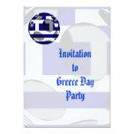 Invitación de Grecia #1 Invitación 12,7 X 17,8 Cm