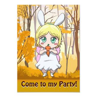 Invitación de hadas - comparta mi zanahoria