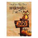 Invitación de Halloween