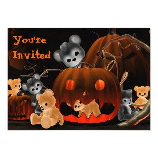 Invitación de Halloween Bearz #2