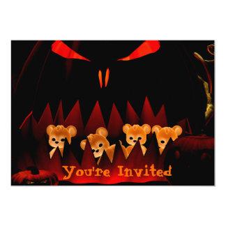 Invitación de Halloween Bearz #3