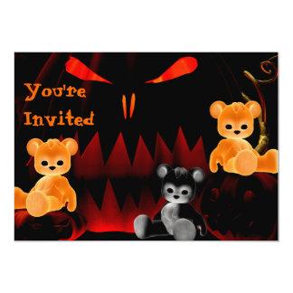 Invitación de Halloween Bearz #4