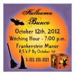 Invitación de Halloween Bunco