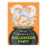 Invitación de Halloween de la caldera de los fanta