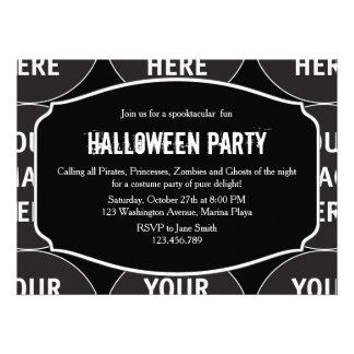 Invitación de Halloween del producto del personali