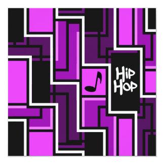 Invitación de Hip Hop - personalizar