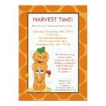 invitación de la acción de gracias de la cosecha