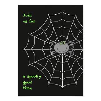 Invitación de la araña y del Web