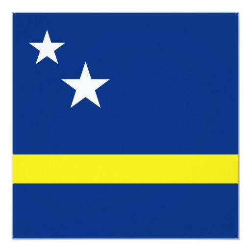 Invitación de la bandera de Curaçao