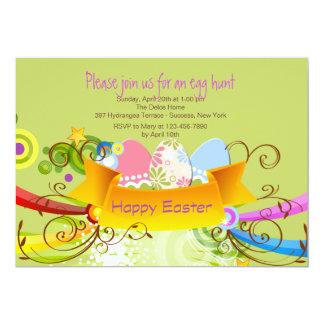 Invitación de la bandera de Pascua