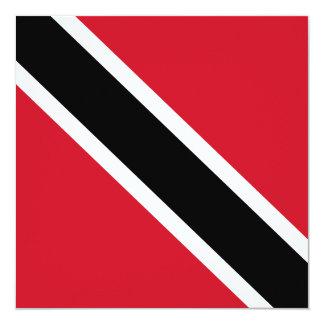 Invitación de la bandera de Trinidad and Tobago