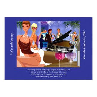 Invitación de la barra del piano