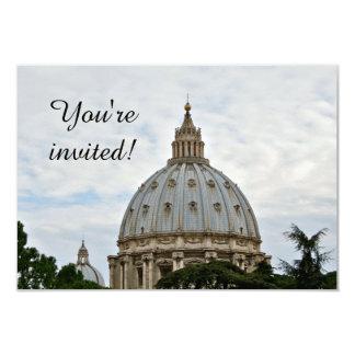 Invitación de la basílica de San Pedro
