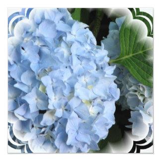 Invitación de la belleza del verano del Hydrangea Invitación 13,3 Cm X 13,3cm