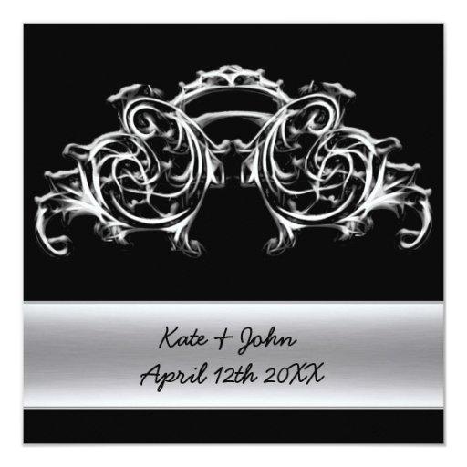 Invitación de la bodas de plata del remolino del
