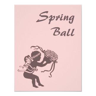 Invitación de la bola de la primavera del Faerie