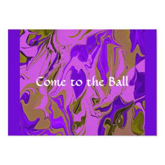 invitación de la bola de la recaudador de fondos