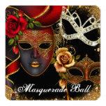 Invitación de la bola de mascarada del dulce