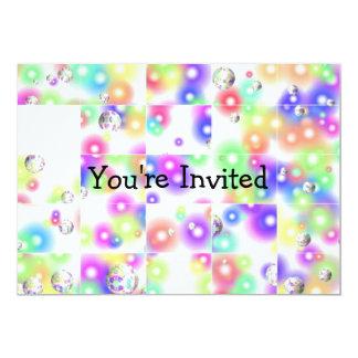 Invitación de la burbuja del rompecabezas