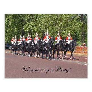 Invitación de la caballería del hogar
