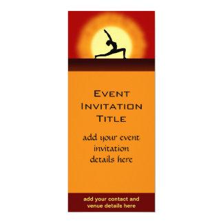 Invitación de la calidad de miembro de la silueta