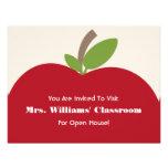 Invitación de la casa abierta de la escuela - Appl