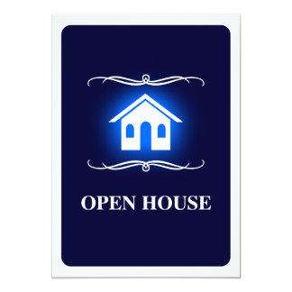 invitación de la casa abierta de la MOD
