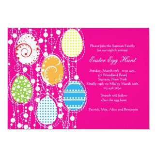 Invitación de la cascada del huevo de Pascua