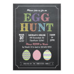 Invitación de la caza del huevo de