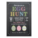 Invitación de la caza del huevo de Pascua/invitaci