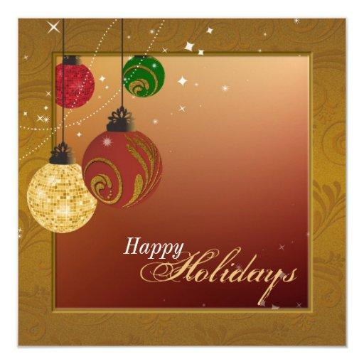 Invitación de la celebración de días festivos - invitación 13,3 cm x 13,3cm