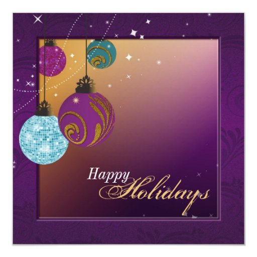Invitación de la celebración de días festivos -