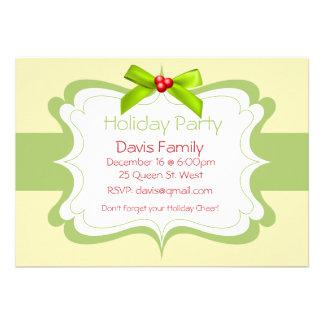 Invitación de la celebración de días festivos