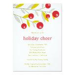 Invitación de la celebración de días festivos de