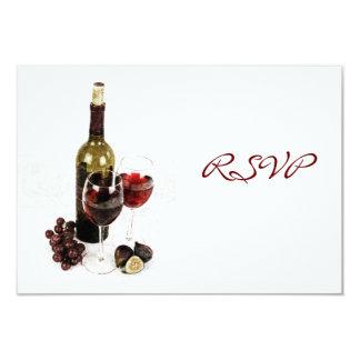 Invitación de la celebración de la cena del vino