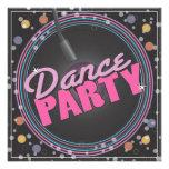 Invitación de la celebración del baile
